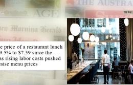2016 - Một năm buồn với ngành kinh doanh nhà hàng tại Mỹ