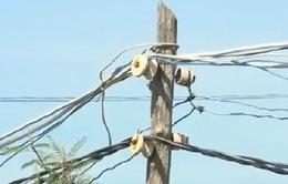 Tiền Giang: Tiềm ẩn nguy cơ tai nạn do tự ý kéo điện