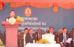 Điện mừng kỷ niệm 66 năm Ngày thành lập Đảng Nhân dân Campuchia