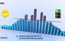 Sử dụng công nghệ ESS lưu trữ điện mặt trời