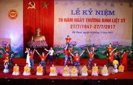 Hà Nam kỷ niệm 70 năm Ngày Thương binh - Liệt sỹ