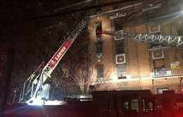 Điều tra nguyên nhân vụ cháy chung cư ở New York, 12 người thiệt mạng