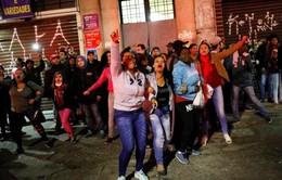 Giao thông tại Brazil tê liệt do đình công