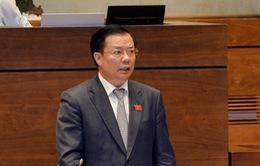 TRỰC TIẾP phiên chất vấn Bộ trưởng Bộ Tài chính Đinh Tiến Dũng