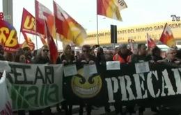 Vận tải hàng không tại Italy ngưng trệ vì đình công