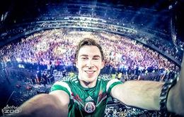 Sôi động đêm nhạc của DJ top 3 thế giới Hardwell tại Hà Nội