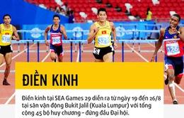 ĐT điền kinh Việt Nam tự tin trước thềm SEA Games 29