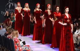 Áo dài dát vàng – điểm nhấn thú vị tại NewYork Couture Fashion Week