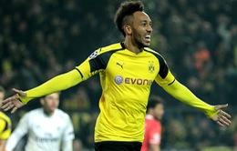 Lượt về vòng 1/8 Champions League: Aubameyang tỏa sáng, Dortmund ngược dòng vào tứ kết