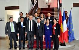 Đoàn Học viện Chính trị Quốc gia Hồ Chí Minh thăm và làm việc tại Pháp