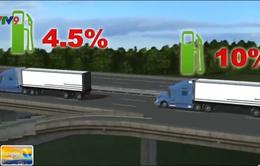 Hệ thống xe chạy theo đoàn giúp tiết kiệm nhiên liệu