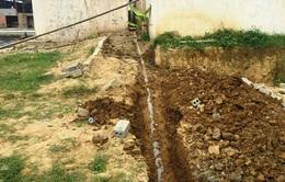 Phát hiện DN chôn đường ống ngầm xả thải ra sông Âm