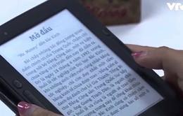 Máy đọc sách điện tử đầu tiên tại Việt Nam