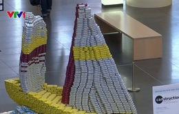 Mỹ: 27 đội tham gia cuộc thi thiết kế mô hình từ đồ hộp