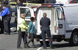 Mỹ bắt giữ một nghi can cố tình đâm vào xe cảnh sát gần tòa nhà Quốc hội