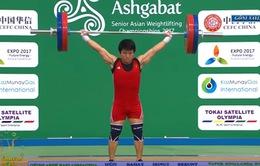 ĐT cử tạ Việt Nam giành thành tích ấn tượng tại giải cử tạ vô địch châu Á