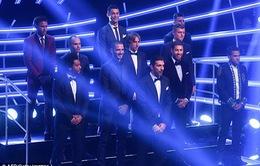 Đội hình hay nhất thế giới năm 2017: La Liga áp đảo, Premier League vắng bóng
