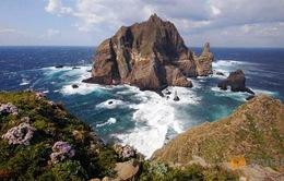 Tỉnh trưởng Hàn Quốc thăm nhóm đảo tranh chấp với Nhật Bản