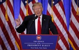 Buổi họp báo đầu tiên của Tổng thống đắc cử Mỹ