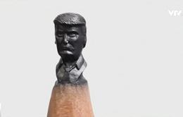 Chân dung Tổng thống Mỹ trên ngòi bút chì