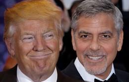 Phản pháo lại Meryl Streep, Tổng thống đắc cử Donald Trump bị George Clooney mỉa mai