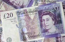 Đồng Bảng Anh giảm giá mạnh do tác động của bầu cử Anh