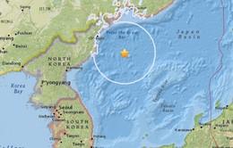 Động đất mạnh 6 độ richter ở vùng biển ngoài khơi Triều Tiên