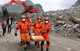 Trung Quốc: Điều máy bay không người lái tham gia cứu hộ động đất