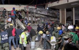Mexico chạy đua thời gian cứu người sau trận động đất