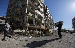 500 ngôi làng bị tàn phá sau động đất tại biên giới Iran-Iraq