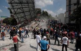 Cảnh hoang tàn tại thủ đô Mexico City sau động đất