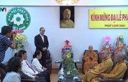 Đồng chí Nguyễn Thiện Nhân chúc mừng Đại lễ Phật đản