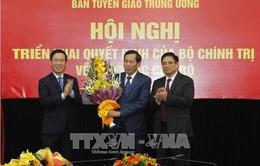 Đồng chí Thuận Hữu kiêm nhiệm giữ chức Phó trưởng Ban Tuyên giáo