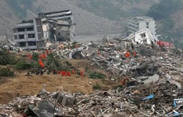 Động đất mạnh 7 độ Richter ở Trung Quốc