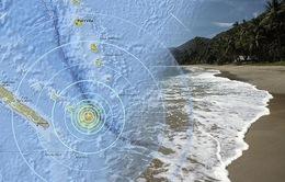 Động đất mạnh rung chuyển đảo Pháp thuộc Nam Thái Bình Dương