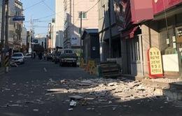 Động đất mạnh 5,5 độ Richter tại Hàn Quốc
