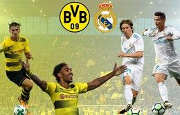 Lịch thi đấu Champions League rạng sáng mai (27/9): Real đối đầu Dortmund, các đội bóng Anh dễ thở