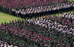 Thắt chặt an ninh ngày bầu cử Thị trưởng Jakarta (Indonesia)
