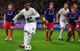 CSKA Moscow thua to vì sốc với sức mạnh của Man Utd