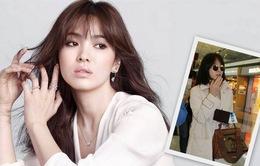 Cuối cùng, Song Hye Kyo cũng cắt tóc ngắn theo loạt nữ thần Kbiz