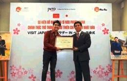 Noo Phước Thịnh làm Đại sứ thiện chí du lịch Nhật Bản