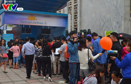 Vietnam Airlines bán 150.000 vé giá rẻ tại Hội chợ Du lịch quốc tế Việt Nam 2017