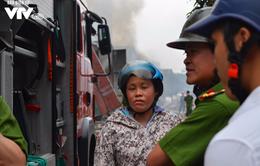 6 kho hàng bị thiệt hại nặng nề trong vụ cháy trên đường Phạm Hùng