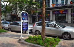 Dịch vụ đỗ xe iParking sẽ được triển khai ở 4 quận Hà Nội vào quý I/2018