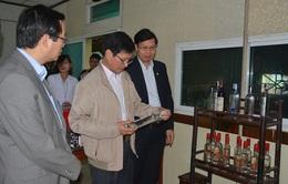 Hà Nội xử phạt hàng loạt sai phạm về kinh doanh rượu
