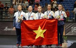 ĐT Thể dục nghệ thuật Việt Nam giành tấm HCB lịch sử tại SEA Games 29