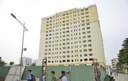 Phớt lờ quy định, đưa hộ dân vào ở tại chung cư chưa nghiệm thu PCCC