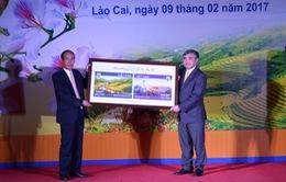 Phát hành đặc biệt bộ tem Năm Du lịch quốc gia 2017 - Lào Cai - Tây Bắc
