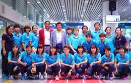 ĐT bóng đá nữ Việt Nam trở về sau thành tích ấn tượng tại SEA Games 29