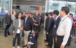 """170 khách quốc tế """"xông đất"""" Đà Nẵng"""